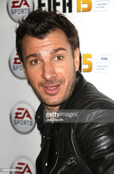 Michael Youn attends the new video game 'Fifa 15' party held at l'Opera restaurant on September 22 2014 in Paris France