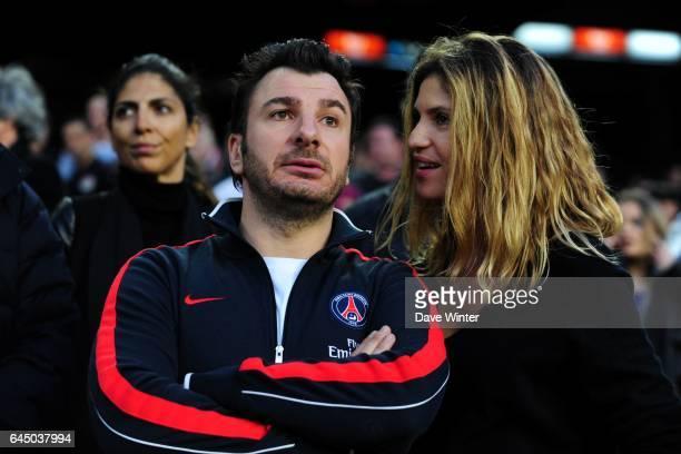 Michael YOUN / Isabelle FURANO Barcelone / PSG 1/4 de Ligue des Champions Photo Dave Winter / Icon Sport
