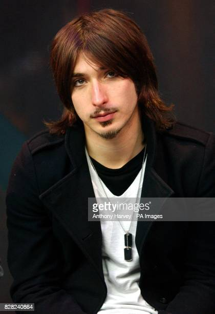 Michael Zakarin from The Bravery during his guest appearance on MTV's TRL Total Request Liveshow Monday 28th November 2005 held at their studios in...