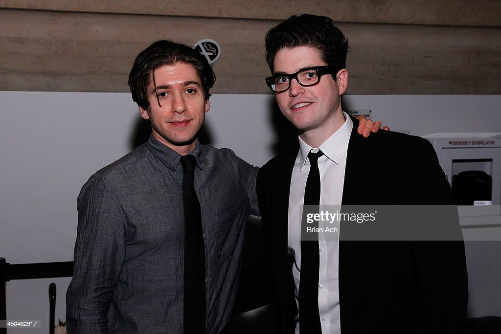 Michael Zegen and Phillip Ettinger attends The 2013 Steinberg Playwright 'Mimi' Awards presented by The Harold and Mimi Steinberg Charitable Trust at Lincoln Center Theater on November 18, 2013 in New York City.
