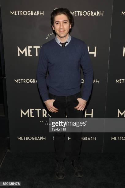 Michael Zegen attends the Metrograph 1st Year Anniversary Party at Metrograph on March 8 2017 in New York City