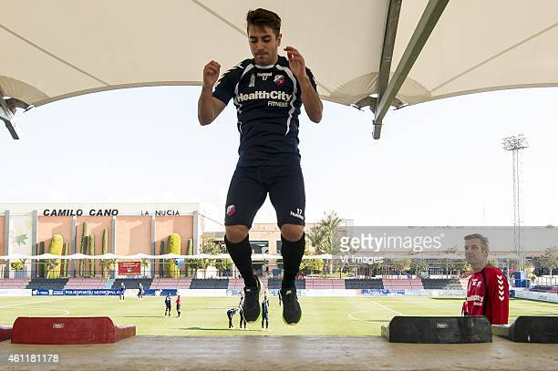 Michael Zullo of FC Utrecht during the training camp of FC Utrecht on January 8 2015 at Benidorm Spain