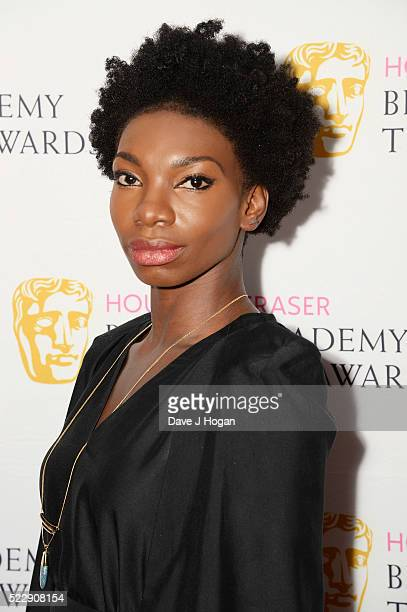 Michaela Coel attends the House of Fraser British Academy Television and Craft Nominees Party at The Mondrian Hotel on April 21 2016 in London England