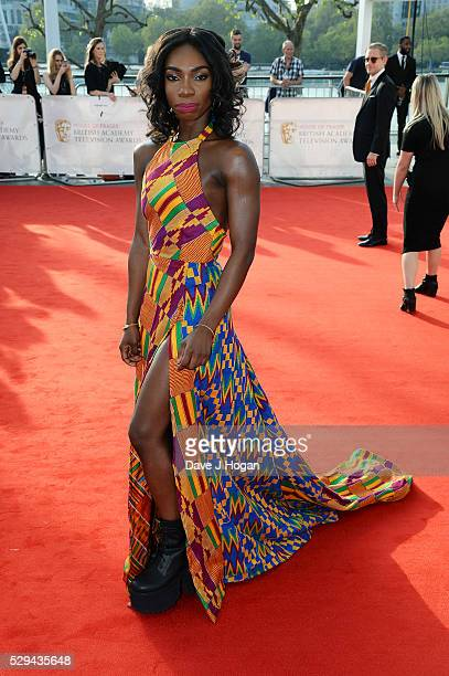 Michaela Coel attends the House Of Fraser British Academy Television Awards 2016 at the Royal Festival Hall on May 8 2016 in London England