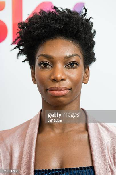 Michaela Coel attends the Sky Women In Film TV Awards at London Hilton on December 2 2016 in London England