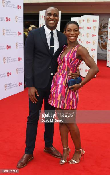 Michaela Coel attends the Virgin TV BAFTA Television Awards at The Royal Festival Hall on May 14 2017 in London England