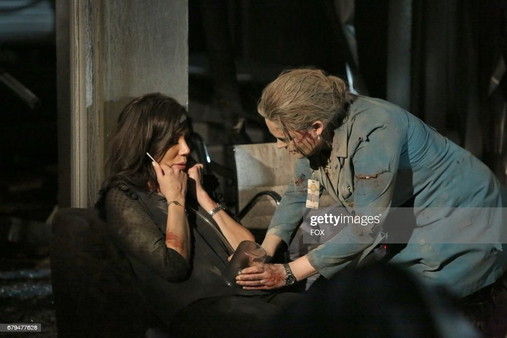 Michaela Conlin and Emily Deschanel in 'The Final Chapter: The End in the End' series finale episode of BONES airing Tuesday, March 28 (9:01-10:00 PM ET/PT) on Fox.