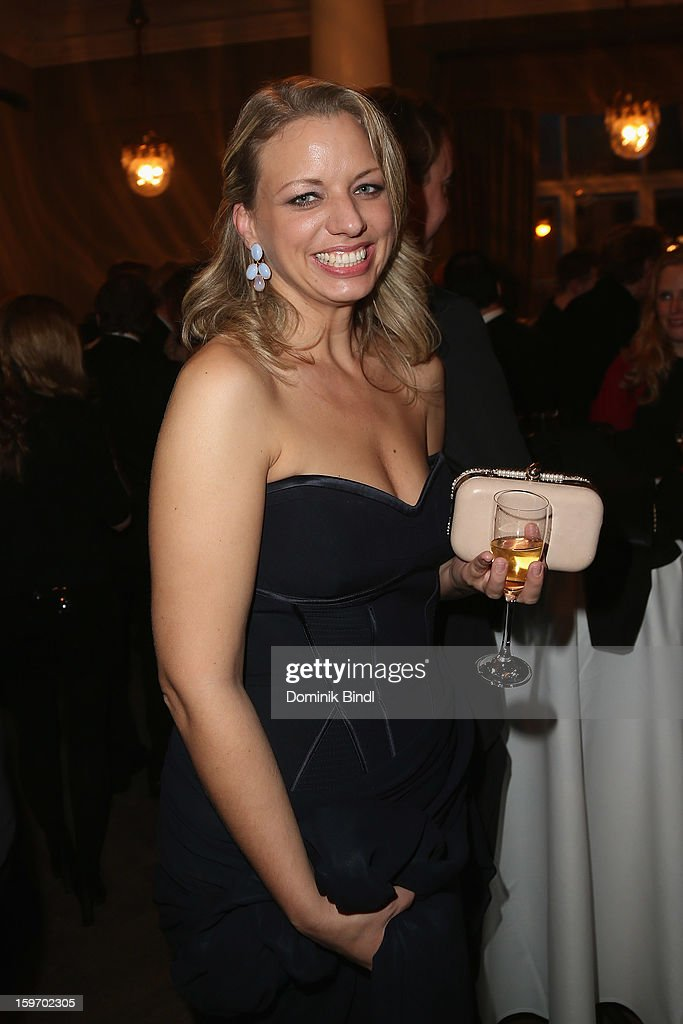 Michaela Kezele attends the Bavarian Movie Awards 2013 after party on January 18, 2013 in Munich, Germany.