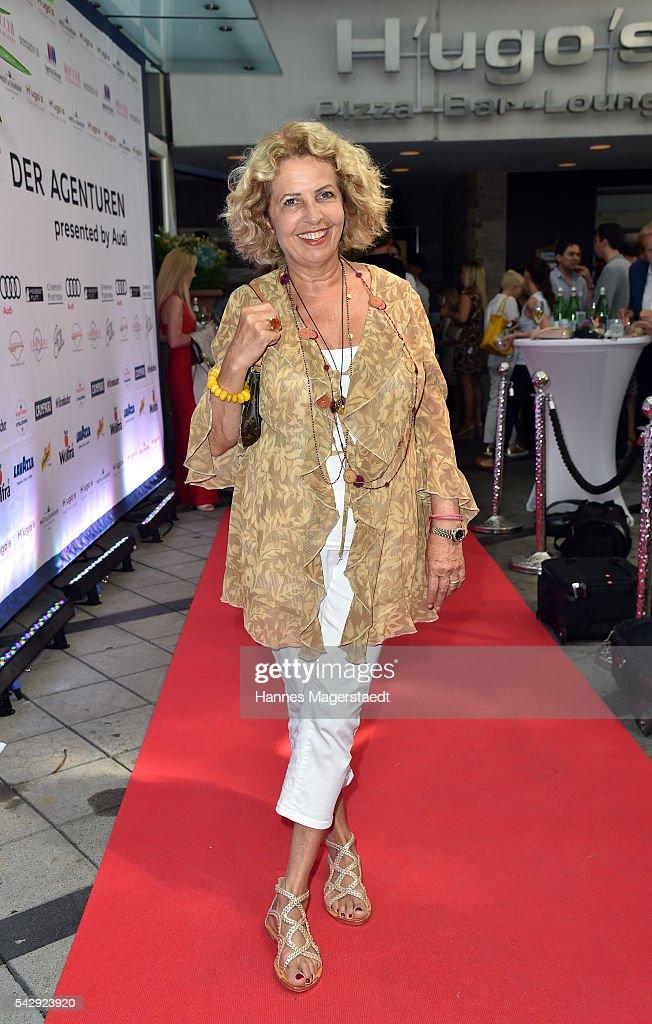 Michaela May during the 'Sommerfest der Agenturen' at Hugo's on June 25, 2016 in Munich, Germany.
