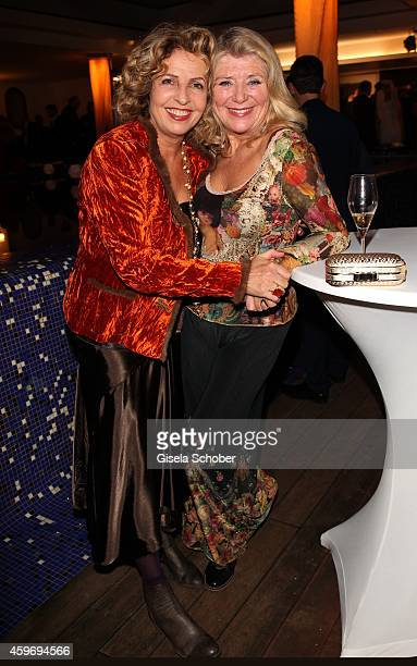 Michaela May Jutta Speidel during the ARD advent dinner hosted by the program director of the tv station Erstes Deutsches Fernsehen at Hotel...