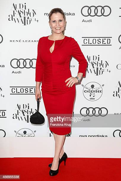 Michaela Schaffrath attends the Audi Fashion Award 2014 on October 09 2014 in Hamburg Germany