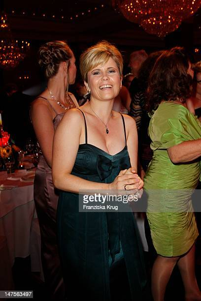Michaela Schaffrath attends the dreamball 2011 charity gala at the RitzCarlton on September 16 2011 in Berlin Germany