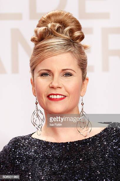 Michaela Schaffrath attends the Goldene Kamera 2016 on February 6 2016 in Hamburg Germany
