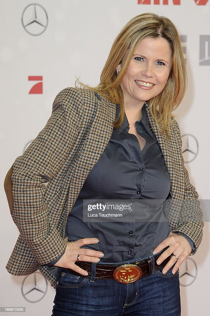 Michaela Schaffrath attends the premiere of 'Die Hard - Ein Guter Tag Zum Sterben' at Sony Center on February 4, 2013 in Berlin, Germany.