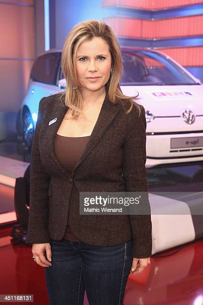 Michaela Schaffrath attends the RTL Telethon 2013 on November 21 2013 in Cologne Germany