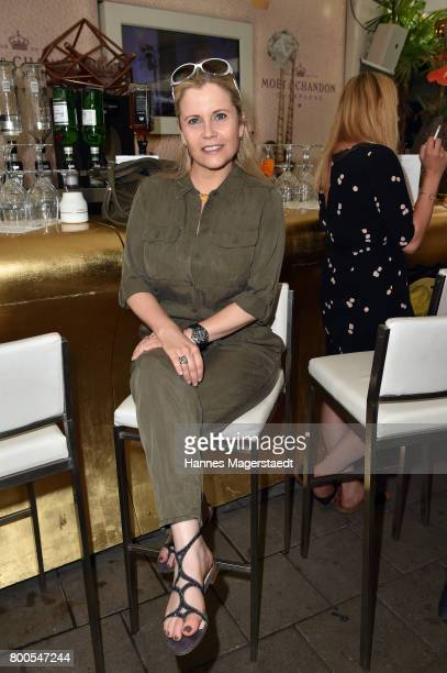 Michaela Schaffrath attends the Sommerfest der Agenturen during Munich Film Festival 2017 at Hugo's on June 24 2017 in Munich Germany