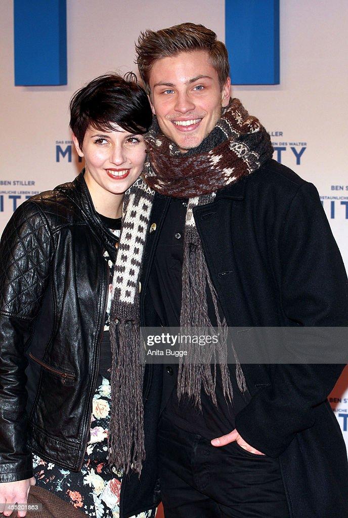 Michaela Spaenle and Jannik Schuemann attend the German premiere of the film 'The Secret Life Of Walter Mitty' (Das erstaunliche Leben des Walter Mitty) at Zoo Palast on December 11, 2013 in Berlin, Germany.