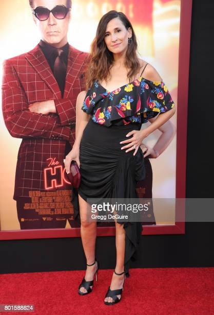 Michaela Watkins arrives at the premiere of Warner Bros Pictures' 'The House' at TCL Chinese Theatre on June 26 2017 in Hollywood California