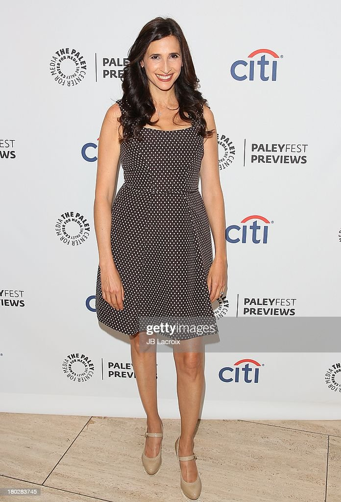 <a gi-track='captionPersonalityLinkClicked' href=/galleries/search?phrase=Michaela+Watkins&family=editorial&specificpeople=5985801 ng-click='$event.stopPropagation()'>Michaela Watkins</a> attends the 2013 PaleyFestPreviews: Fall TV - ABC held at The Paley Center for Media on September 10, 2013 in Beverly Hills, California.