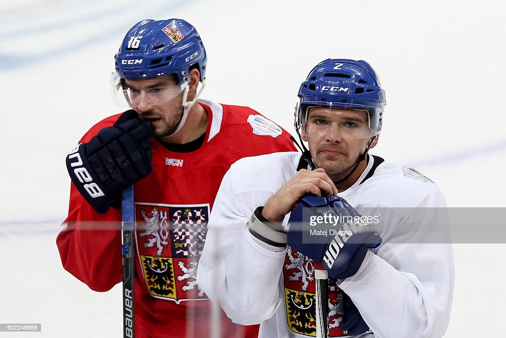 World Cup Of Hockey 2016 - Team Czech Republic - Practice & Press Interviews