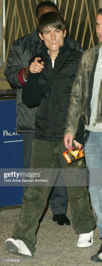 Michal of Star Academy 3 during 2004 NRJ Music Awards Rehearsal Arrivals at Palais des Festivals in Cannes France