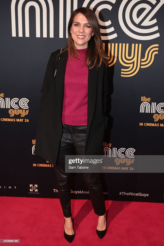 <a gi-track='captionPersonalityLinkClicked' href=/galleries/search?phrase=Michala+Banas&family=editorial&specificpeople=221429 ng-click='$event.stopPropagation()'>Michala Banas</a> arrives ahead of The Nice Guys Melbourne Premiere at Event Cinemas George Street on May 24, 2016 in Sydney, Australia.