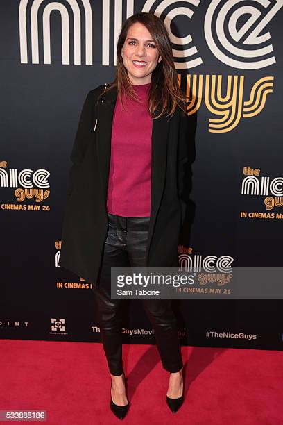 Michala Banas arrives ahead of The Nice Guys Melbourne Premiere at Event Cinemas George Street on May 24 2016 in Sydney Australia
