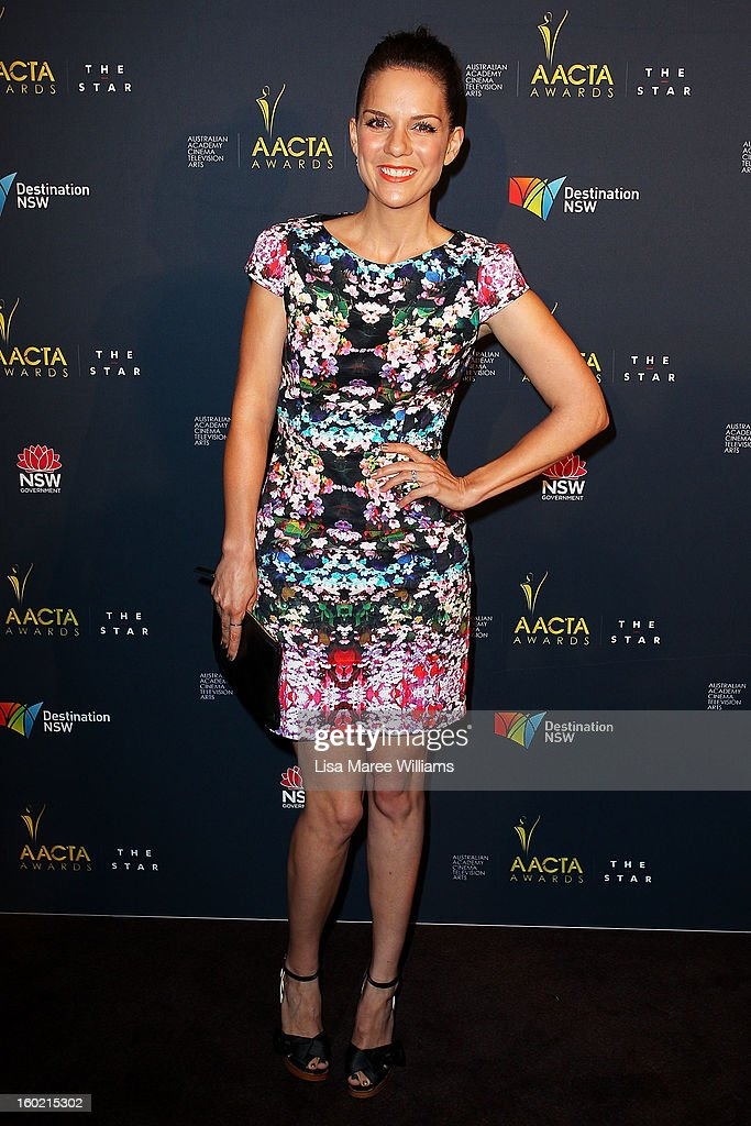 Michala Banas attends the 2nd Annual AACTA Awards Luncheon at The Star on January 28, 2013 in Sydney, Australia.