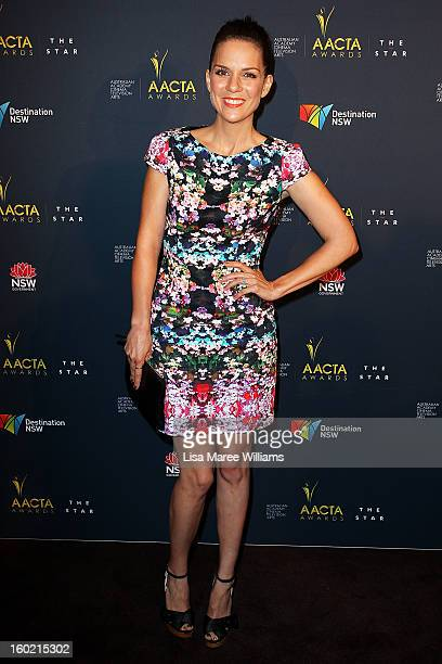 Michala Banas attends the 2nd Annual AACTA Awards Luncheon at The Star on January 28 2013 in Sydney Australia