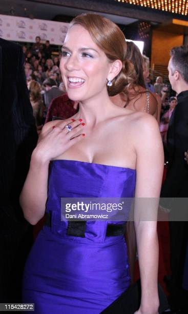 Michala Banas during 2006 TV Week Logie Awards Arrivals at Crown Casino in Melbourne VIC Australia