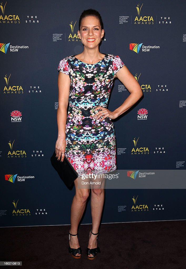 Michala Banas poses during the 2nd Annual AACTA Awards Luncheon at The Star on January 28, 2013 in Sydney, Australia.