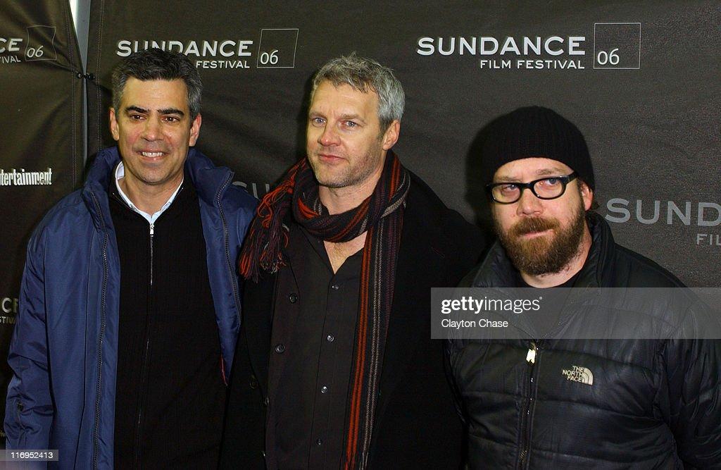 Michale London producer Neil Burger director/writer and Paul Giamatti