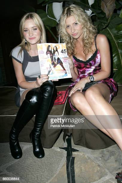 Michalka and Aly Michalka attend NYLON and MYSPACE May Young Hollywood Issue Party Hosted by Kat Dennings and Olivia Thirlby at Roosevelt Hotel on...