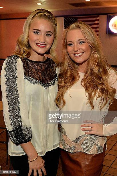 Michalka and season 12 American Idol contestant Janelle Arthur attend the VIP Screening for 'Grace Unplugged' at Carmike Thoroughbred Theater on...