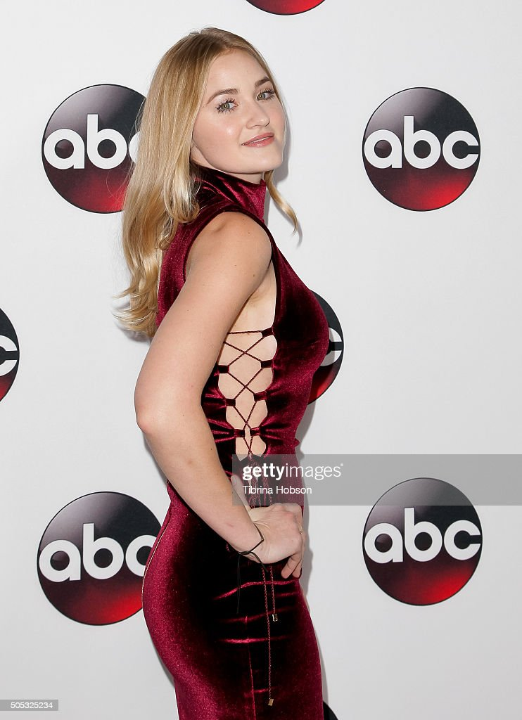Michalka attends the Disney/ABC 2016 Winter TCA Tour at Langham Hotel on January 9 2016 in Pasadena California