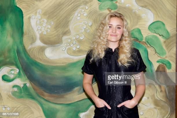Michalka attends the Wolk Morais Collection 5 Fashion Show at Yamashiro Hollywood on May 22 2017 in Los Angeles California