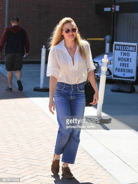 Michalka is seen on March 24 2017 in Los Angeles California