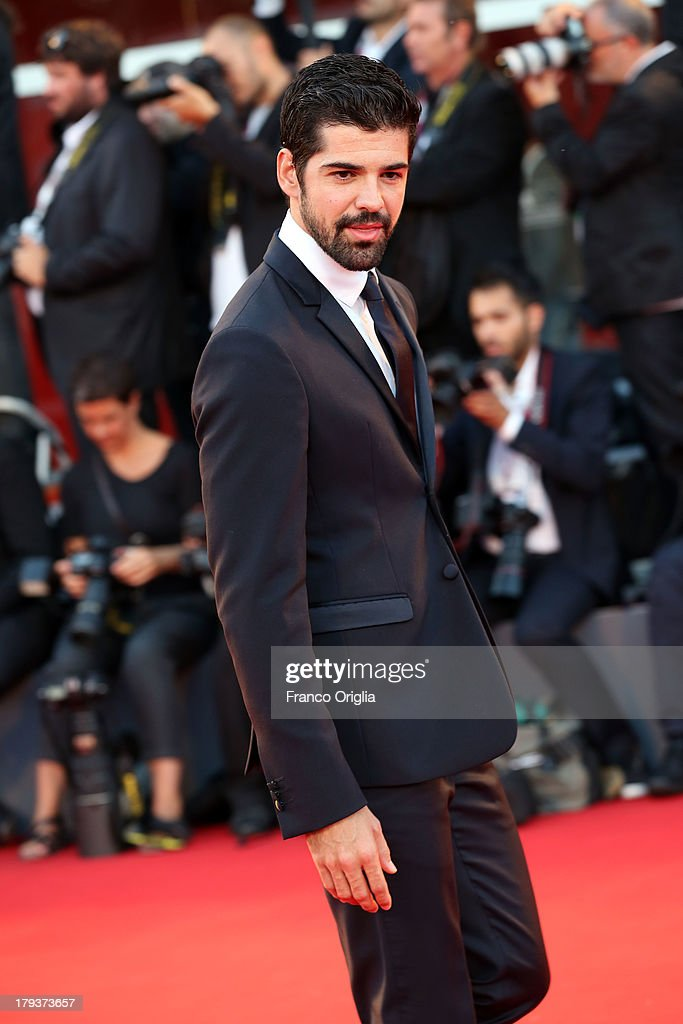 Michel Angel Munoz attends 'The Zero Theorem' Premiere during the 70th Venice International Film Festival at the Palazzo del Cinema on September 2, 2013 in Venice, Italy.