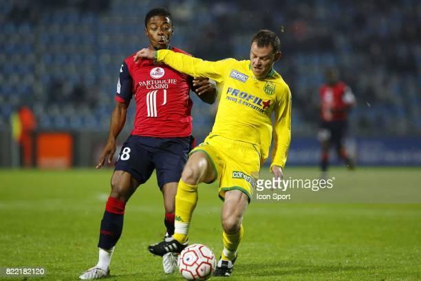 Michel BASTOS / Guillaume MOULLEC Lille / Nantes 12eme journee de Ligue 1