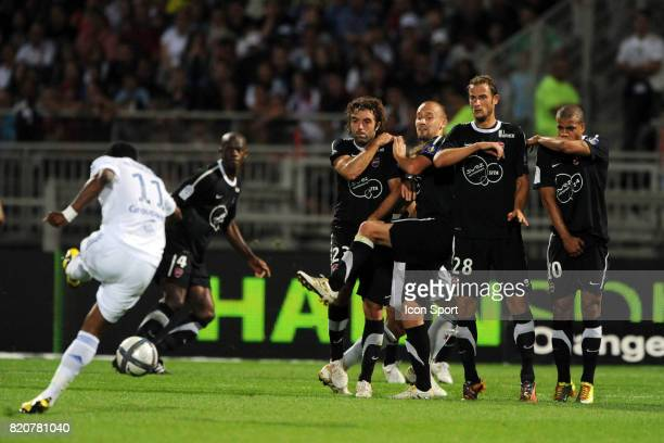 Michel BASTOS / MUR Lyon / Valenciennes 5eme journee de Ligue 1