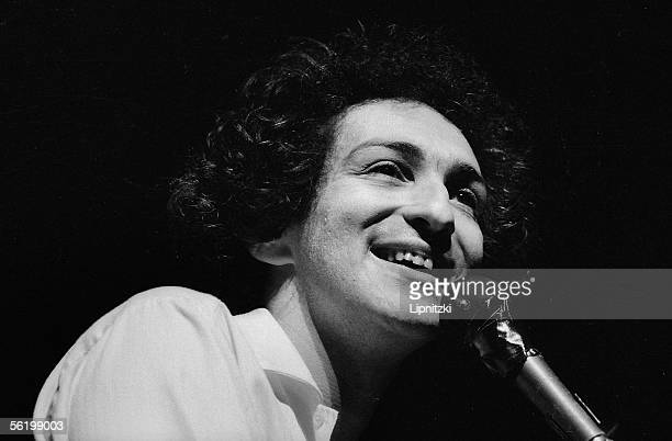 Michel Berger French composersongwriter and singer Paris Olympia 1982