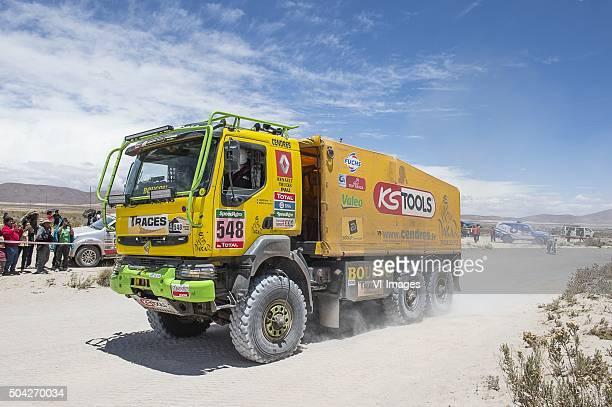 '548 Michel Boucou Pascal Paturaud RENAULT 4WD Jaton Racin'ArgentienArgentinaBolivia'Dakar Press Team'DPTDPT2016'Marathon...