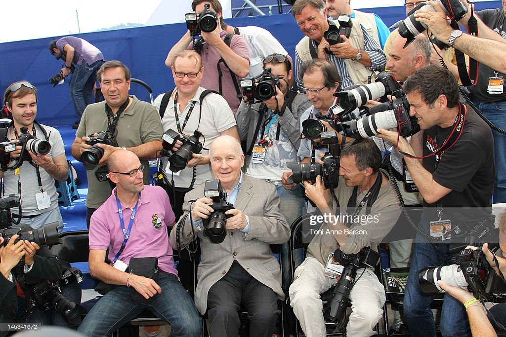 <a gi-track='captionPersonalityLinkClicked' href=/galleries/search?phrase=Michel+Bouquet&family=editorial&specificpeople=2025171 ng-click='$event.stopPropagation()'>Michel Bouquet</a> attends 'Renoir' Photocall at Palais des Festivals on May 26, 2012 in Cannes, France.