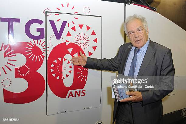 Michel Chevalet attends the 30 years of the TGV Celebration at Gare Montparnasse in Paris