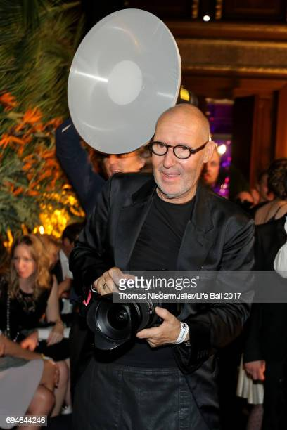 Michel Comte attends the Life Ball 2017 after show party at Volksgarten on June 10 2017 in Vienna Austria