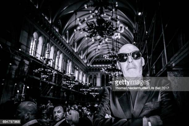 Michel Comte attends the Life Ball 2017 Gala Dinner at City Hall on June 10 2017 in Vienna Austria The Life Ball is an annual charity ball in Vienna...