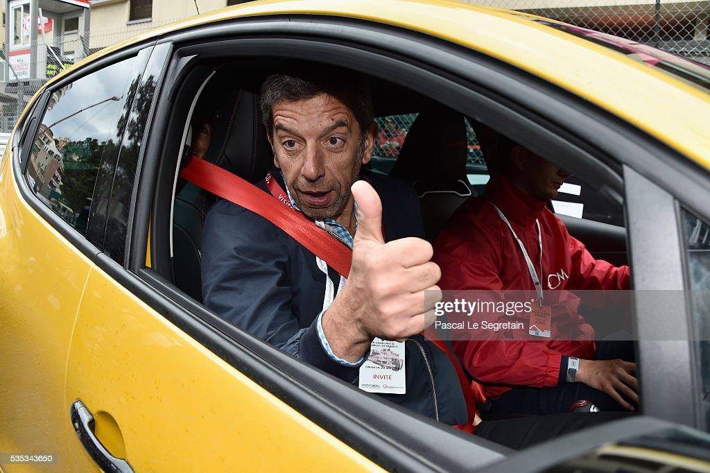 Michel Cymes attends the F1 Grand Prix of Monaco on May 29, 2016 in Monte-Carlo, Monaco on May 29, 2016 in Monte-Carlo, Monaco.