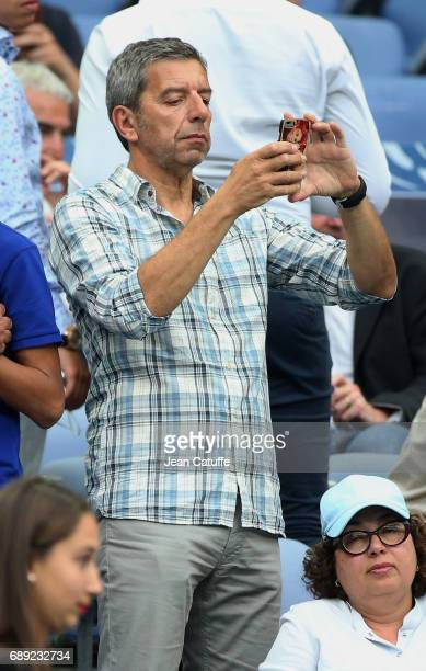 Michel Cymes attends the French Cup final between Paris SaintGermain and SCO Angers at Stade de France on May 27 2017 in SaintDenis near Paris France