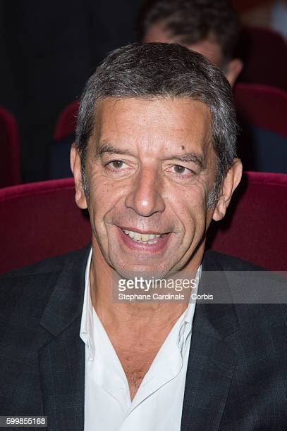 Michel Cymes attends the RTL Press Conference at Elysees Biarritz Cinema on September 7 2016 in Paris France