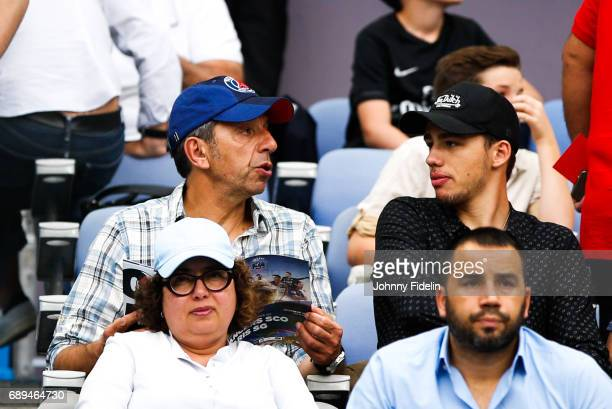 Michel Cymes french people before the National Cup Final match between Angers SCO and Paris Saint Germain PSG at Stade de France on May 27 2017 in...